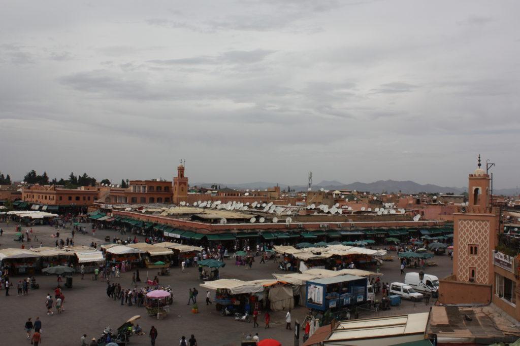 Plaza de Jamaa el Fna Marrakech