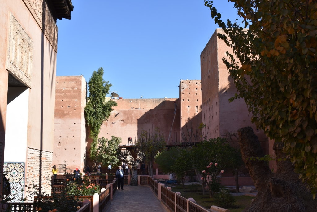 Jardines de las Tumbas Saedíes, Marrakech