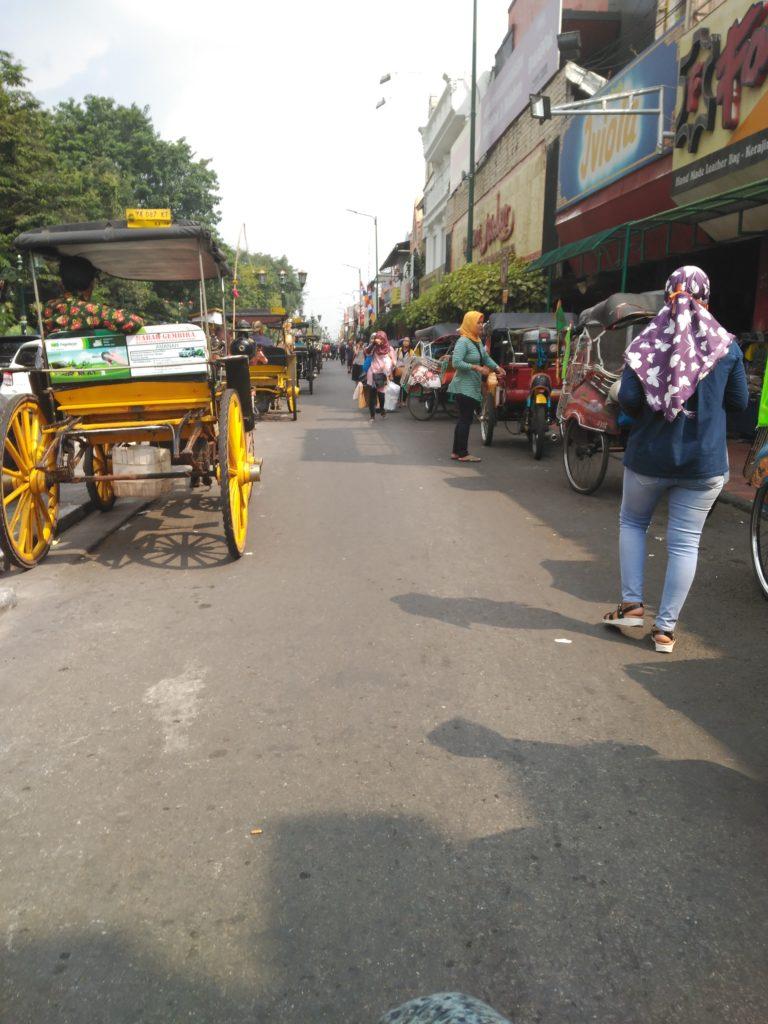 Calle Melioboro, Yogyakarta
