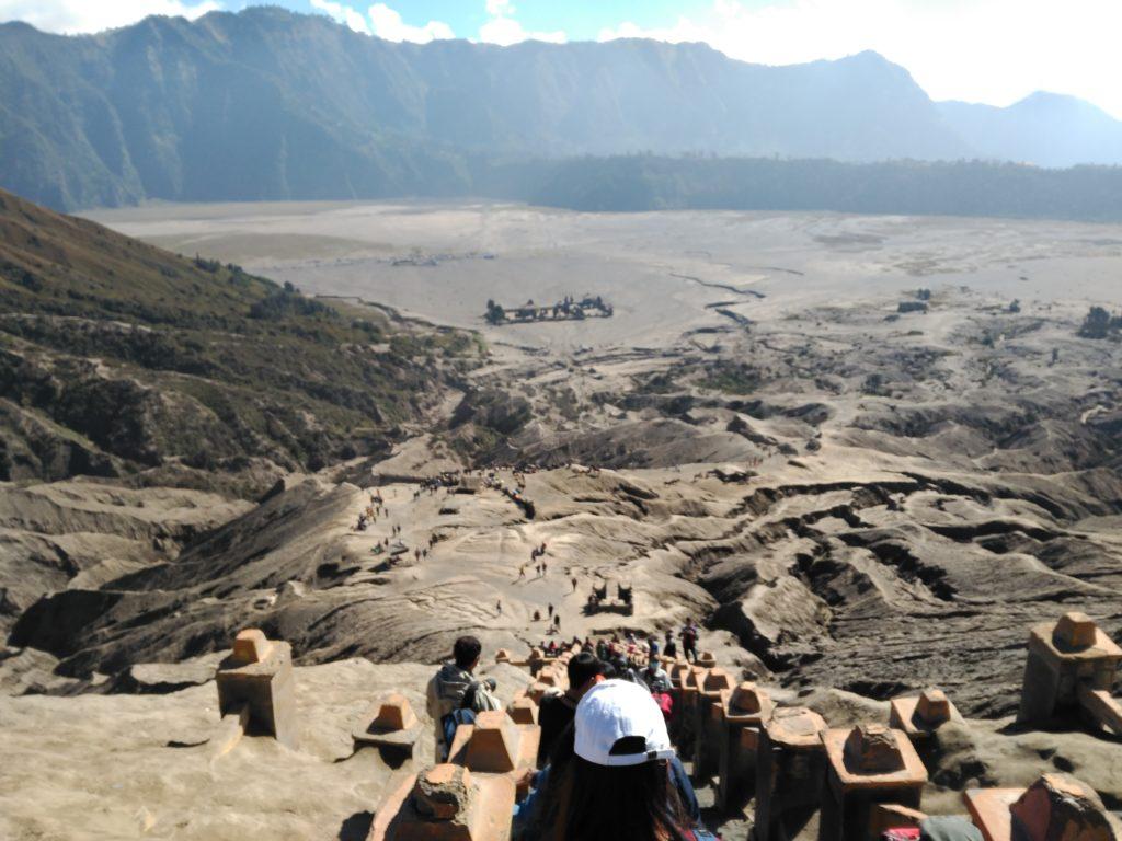 Volcán Bromo y mar de arena